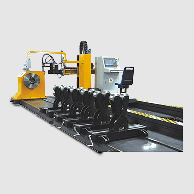 CNC pipe intersection equipment